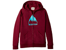 Burton Kids - Stamped Mountain Full Zip Hoodie (Big Kids)