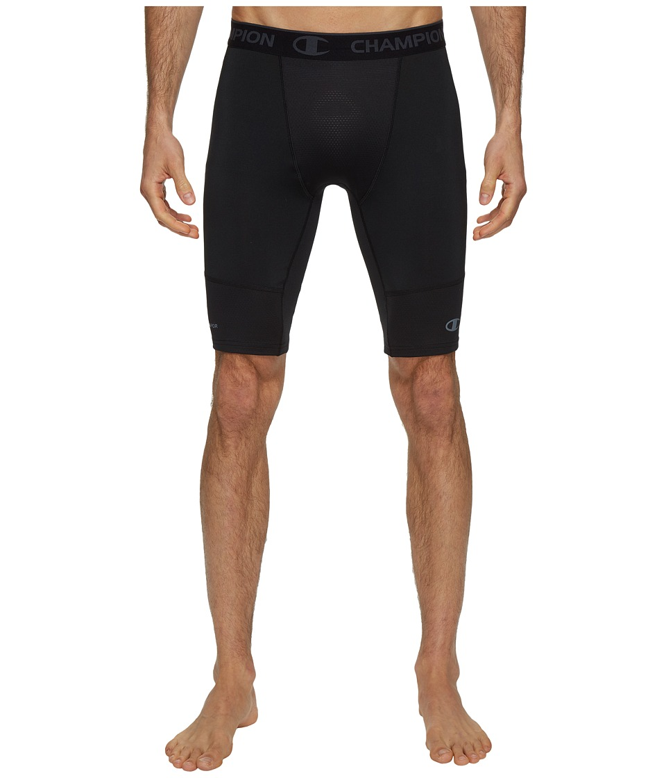 Champion Power Flex 9 Compression Shorts (Black) Men