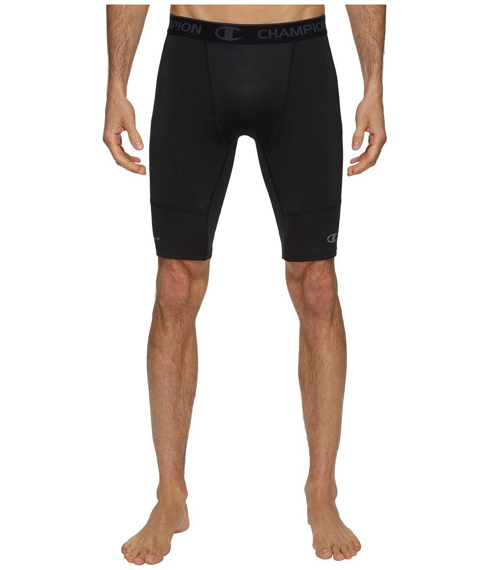 Champion Power Flex 9 Compression Shorts (Black) Men