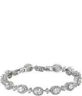 Nina - Dessa Classic Link Bracelet with Oval Haloed CZ