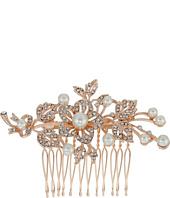 Nina - Lagos Crystal Pearl Floral Comb