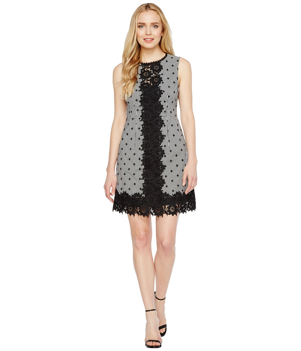 Nanette Lepore Highline Dress (Black/White) Women