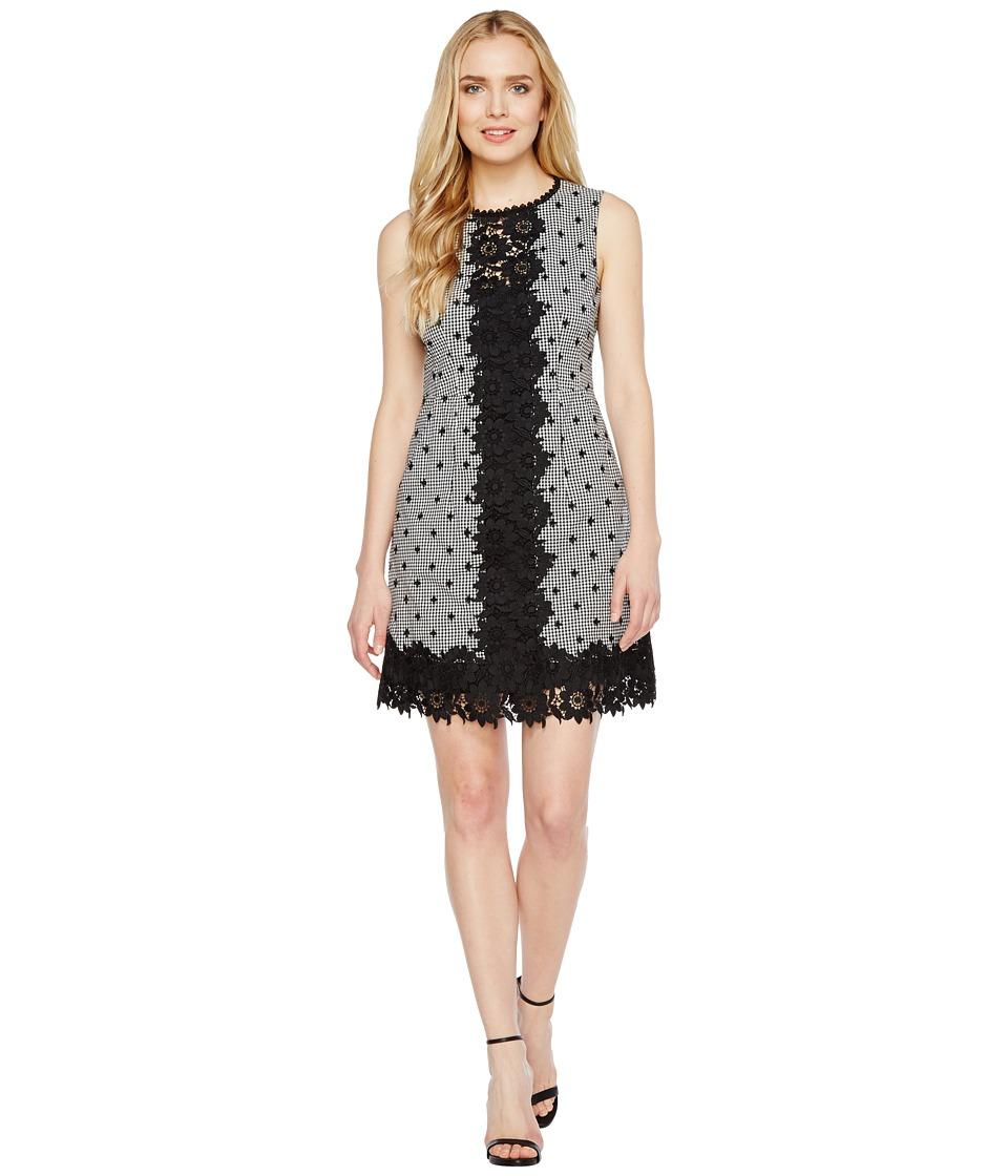 Nanette Lepore Highline Dress (Black/White) Women