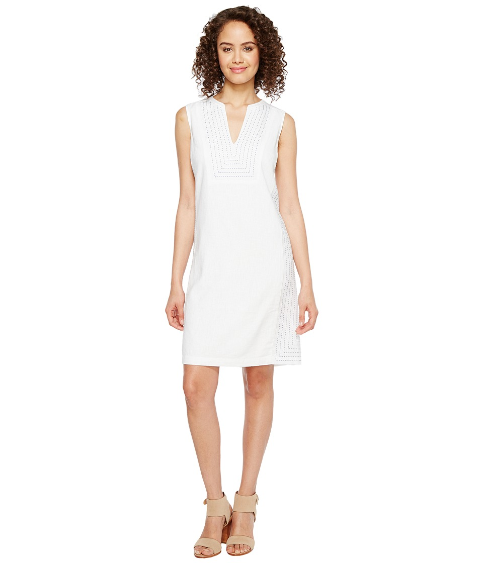 Tommy Bahama Daphne Short Shift Dress (White) Women