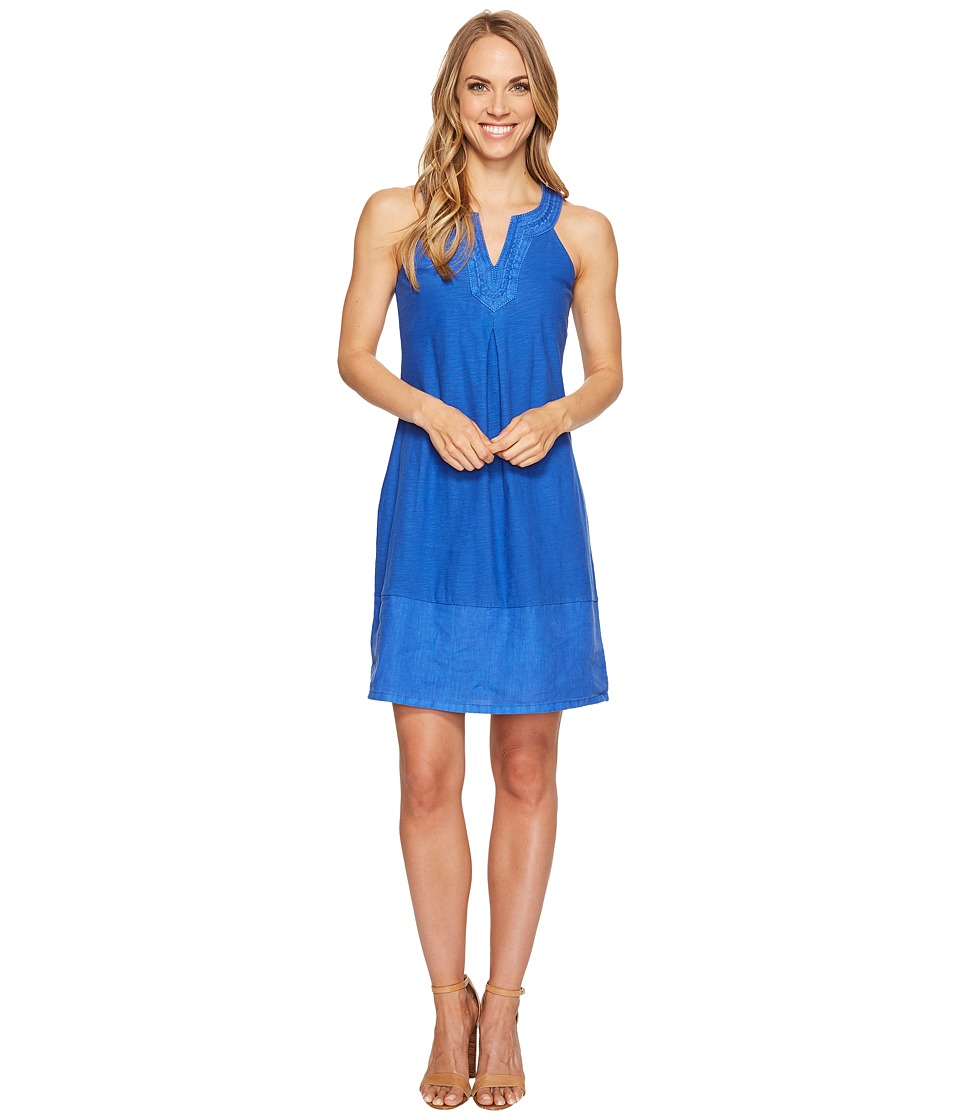 Tommy Bahama Arden Embroidered Sleeveless Short Dress (Old Royal) Women