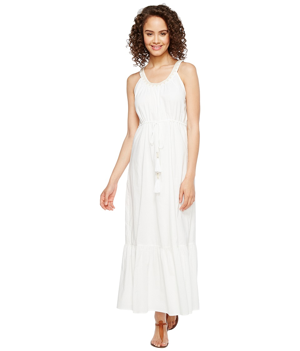 Tommy Bahama Cotton Voile Maxi Sundress (White) Women