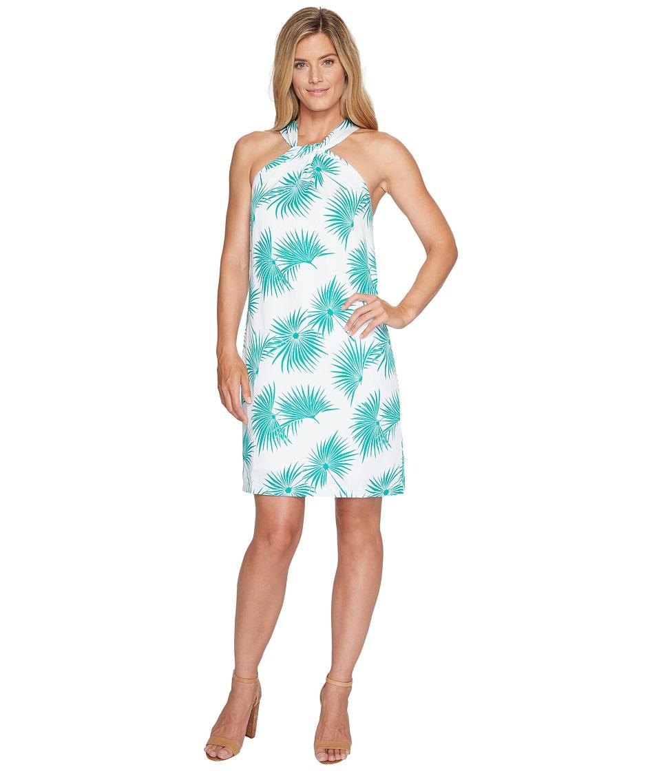 Tommy Bahama Palmyria Short Halter Dress (Jadite) Women