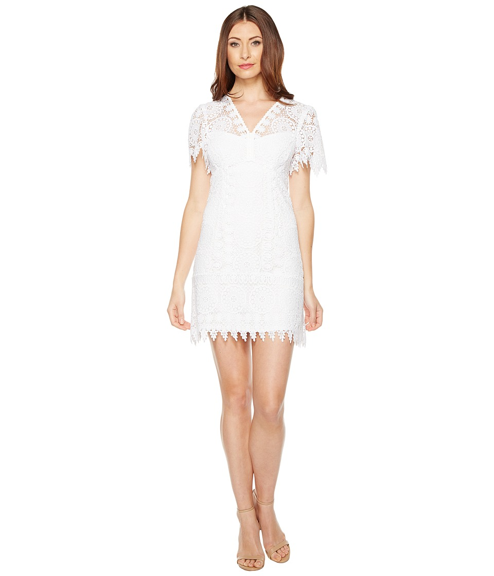 Nanette Lepore Dendelion Dress (White) Women