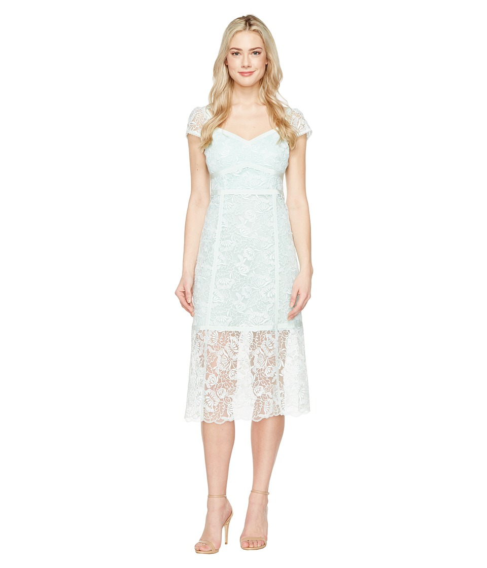 Nanette Lepore - Firefly Dress (Mist) Womens Dress