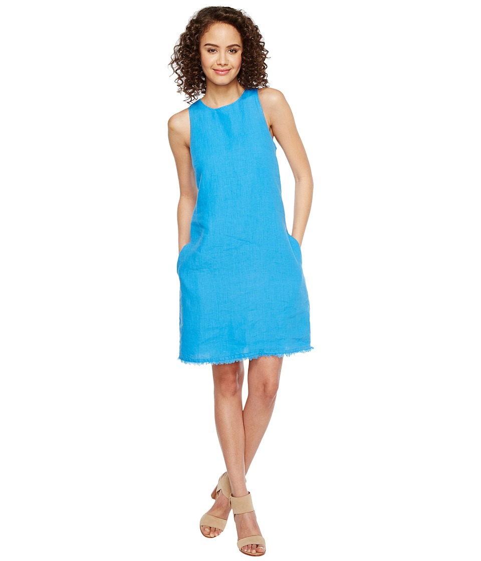 Tommy Bahama Two Palms Sleeveless Short Dress (Download Blue) Women