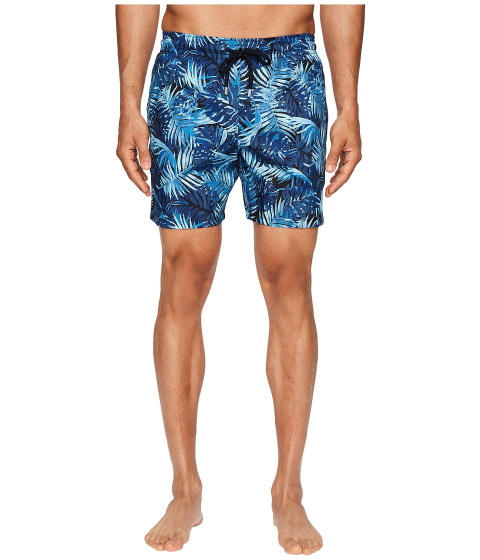 Vilebrequin Mahina Foldable Swim Trunk (Blue Multi) Men
