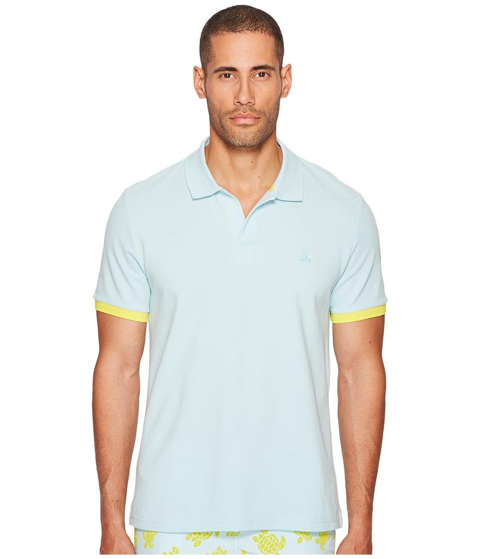 Vilebrequin - Pique Polo with Contrast Collar
