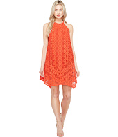 Maggy London - Handkerchief Hem Swing Shift Halter Dress