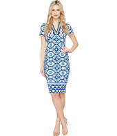 Maggy London - V-Neck Sheath Dress