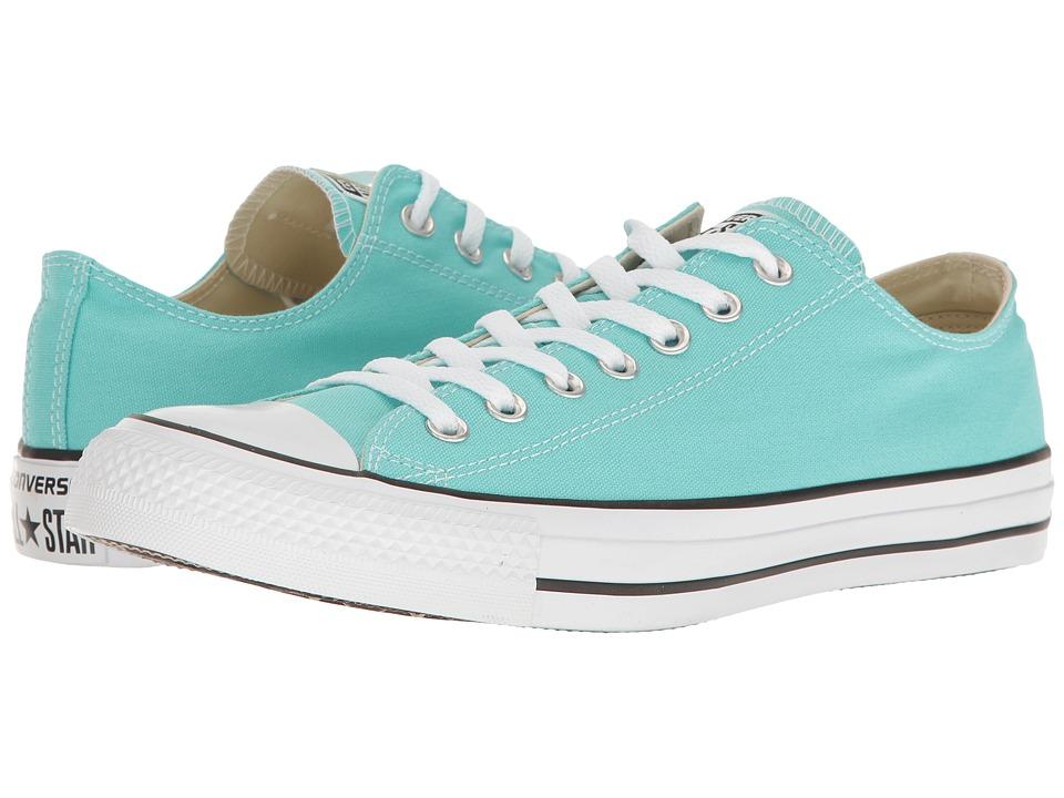 Converse Chuck Taylor All Star Seasonal OX (Light Aqua) Athletic Shoes