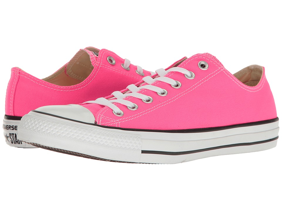 Converse Chuck Taylor All Star Seasonal OX (Pink Pow) Athletic Shoes