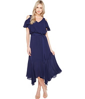 Maggy London - Cold-Shoulder Blouson Dress