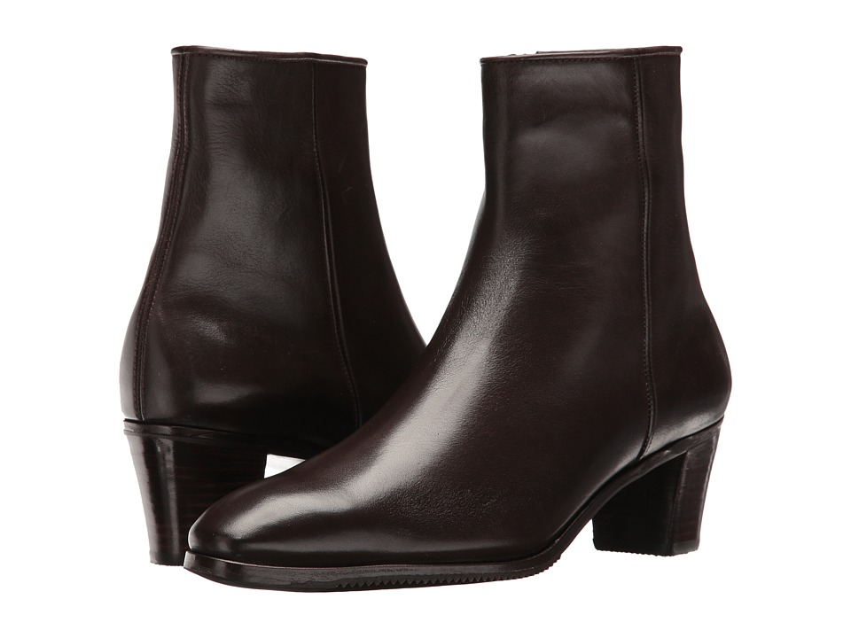 Gravati - Leather Ankle Boot (Brown 2) Womens Dress Zip Boots
