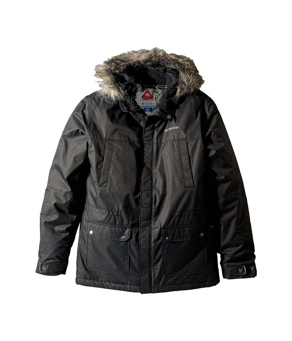 Columbia Kids Snowfield Jacket (Little Kids/Big Kids) (Black Heather) Boy