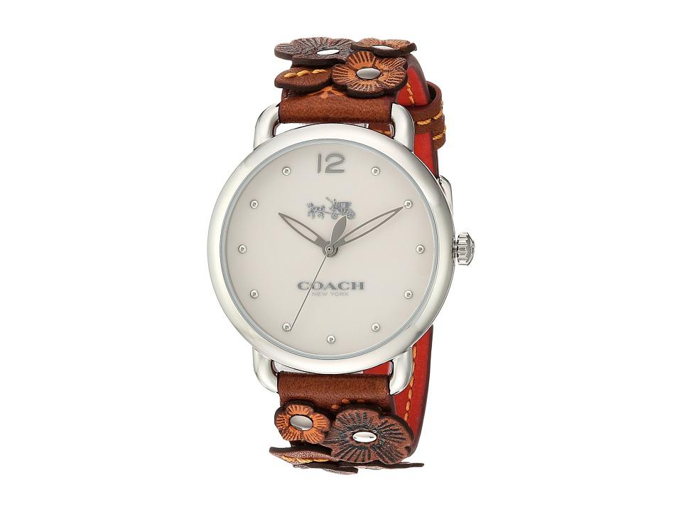 COACH - Delancey - 14502744 (Brown/White) Watches