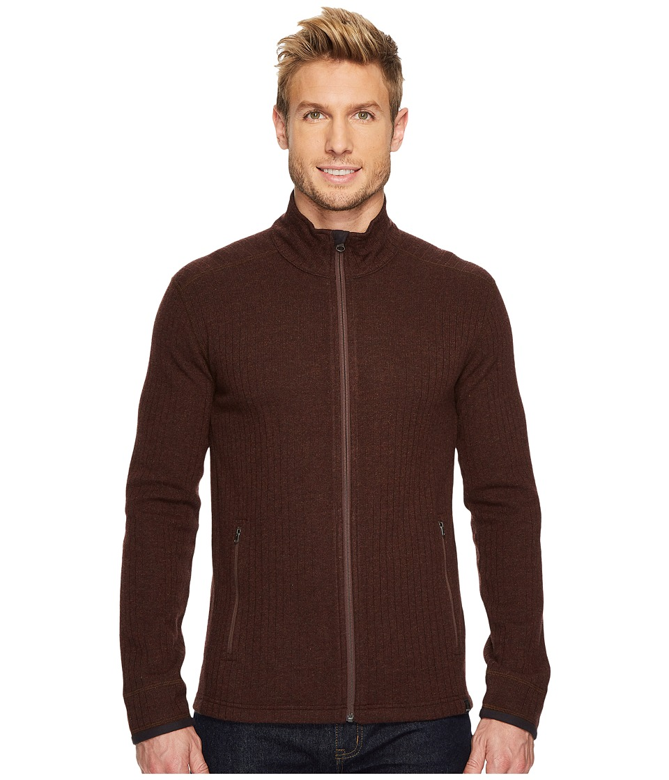 Prana - Barclay Sweater (Cocoa) Mens Coat