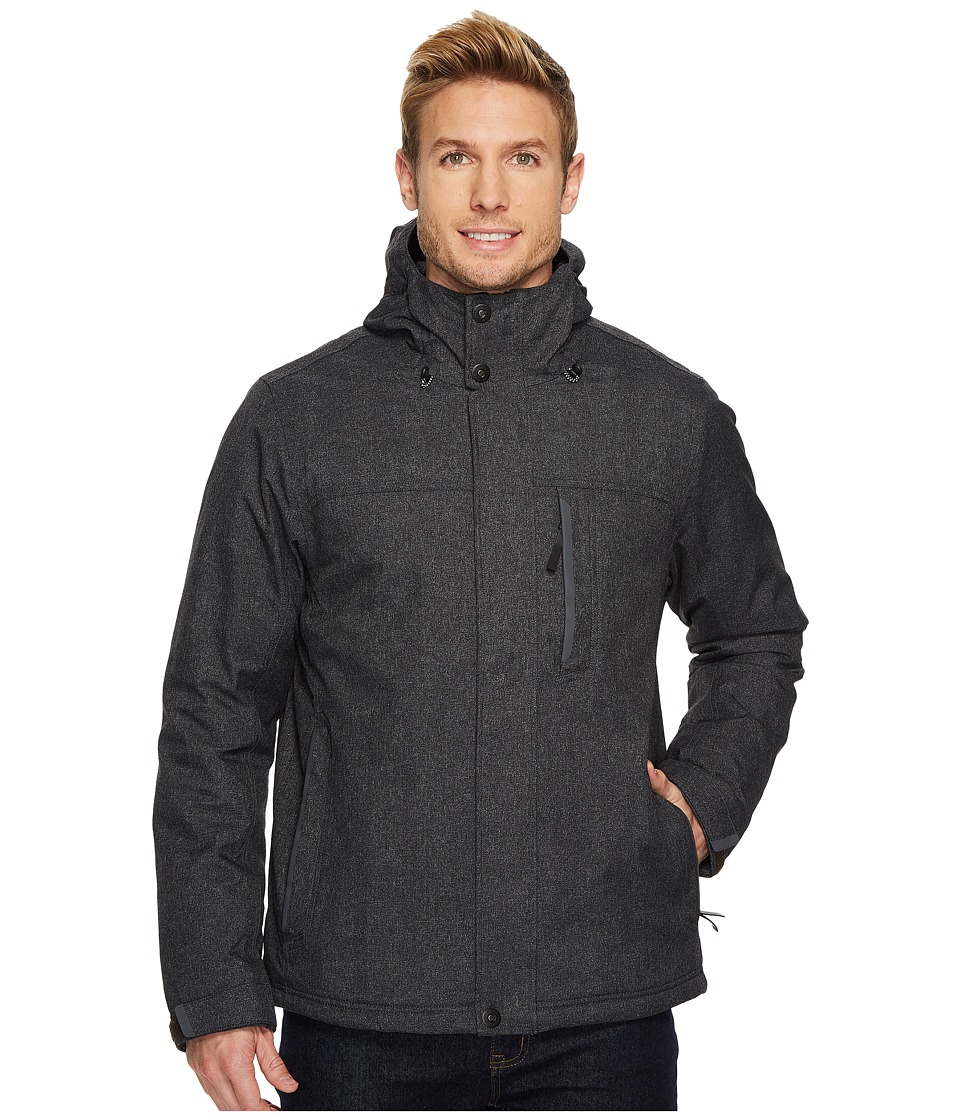 Prana Edgemont Jacket (Black Heather) Men