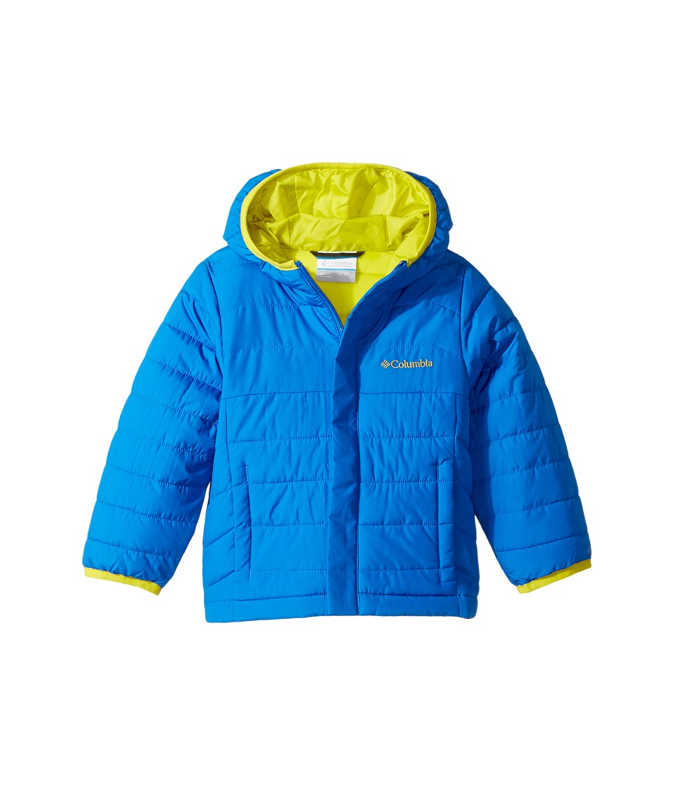 Columbia Kids - Powder Litetm Puffer (Little Kids/Big Kids) (Super Blue/Ginkgo) Boys Coat