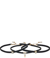 Steve Madden - Charms Choker Three-Piece Set