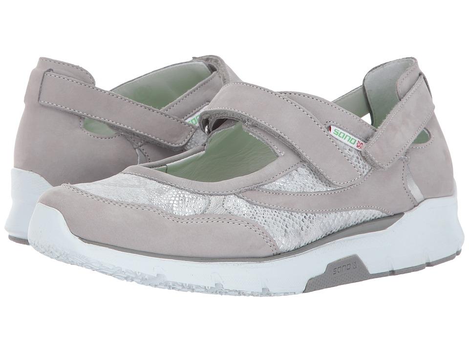 Mephisto - Villia (Cloud Bucksoft/Silver Savana Perl Calfskin) Womens Shoes