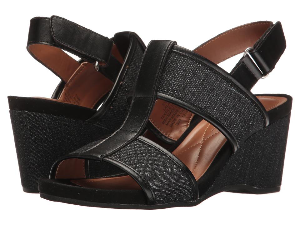 Easy Spirit - Lalani (Black/Black Synthetic) Womens Shoes