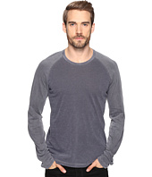 Splendid Mills - Cliff Jersey Mixed Media Long Sleeve Crew