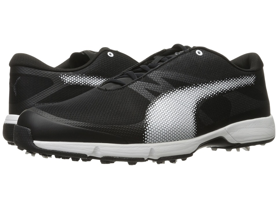 PUMA Golf Ignite Drive Sport (Puma Black/Puma White/Gray Violet) Men