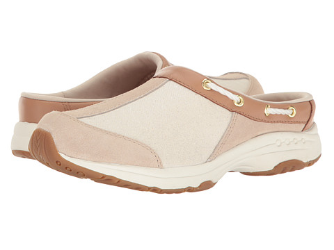 Easy Spirit Travelport - Light Natural Multi Suede