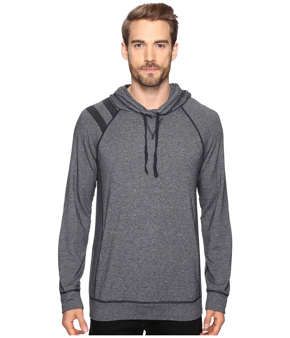 Splendid Mills Long Sleeve Graphic Hoodie (Navy) Men