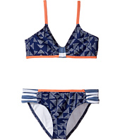 Splendid Littles - Deckhouse Geo Bralette & Tab Side Pants (Big Kids)