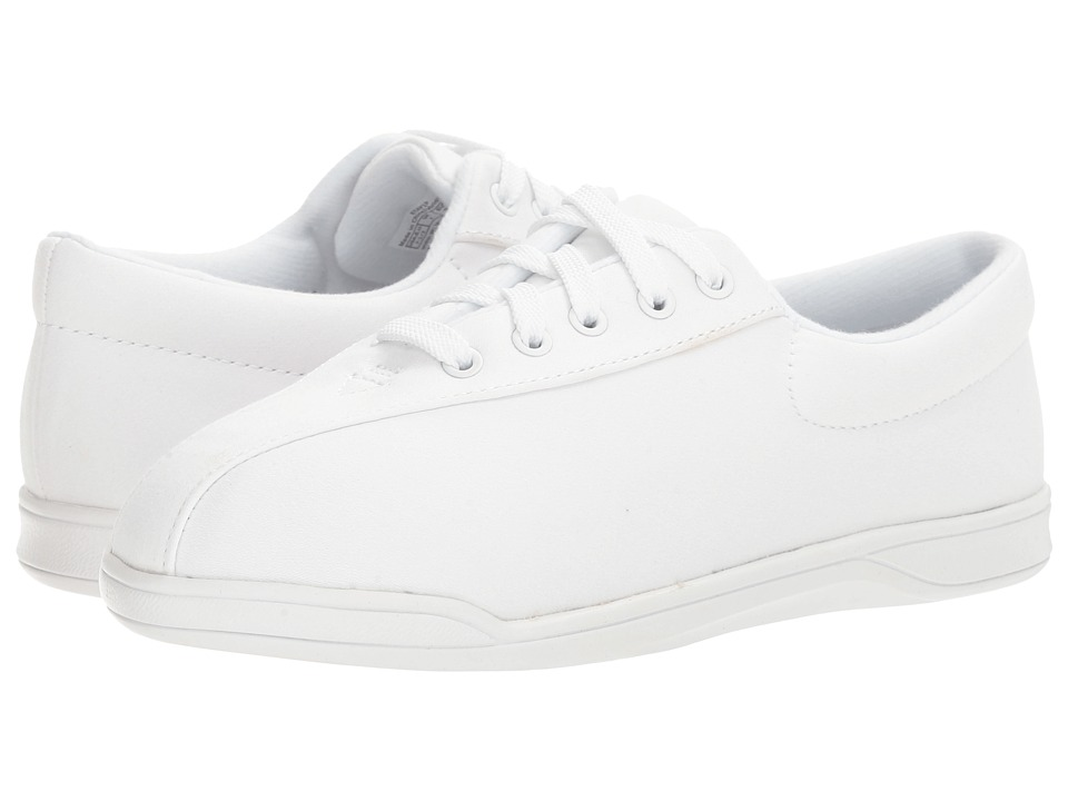 Easy Spirit AP 1P (White Fabric) Women