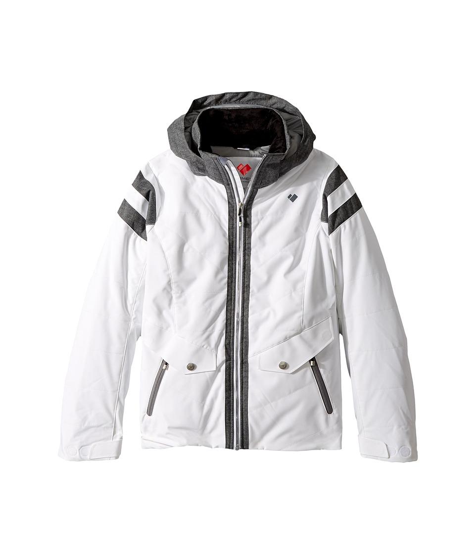 Obermeyer Kids - Dyna Jacket (Big Kids) (White) Girl's Coat