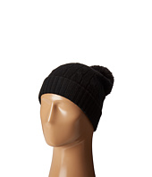 Polo Ralph Lauren - Cashmere Classic Cuff Hat with Faux Fur Pom