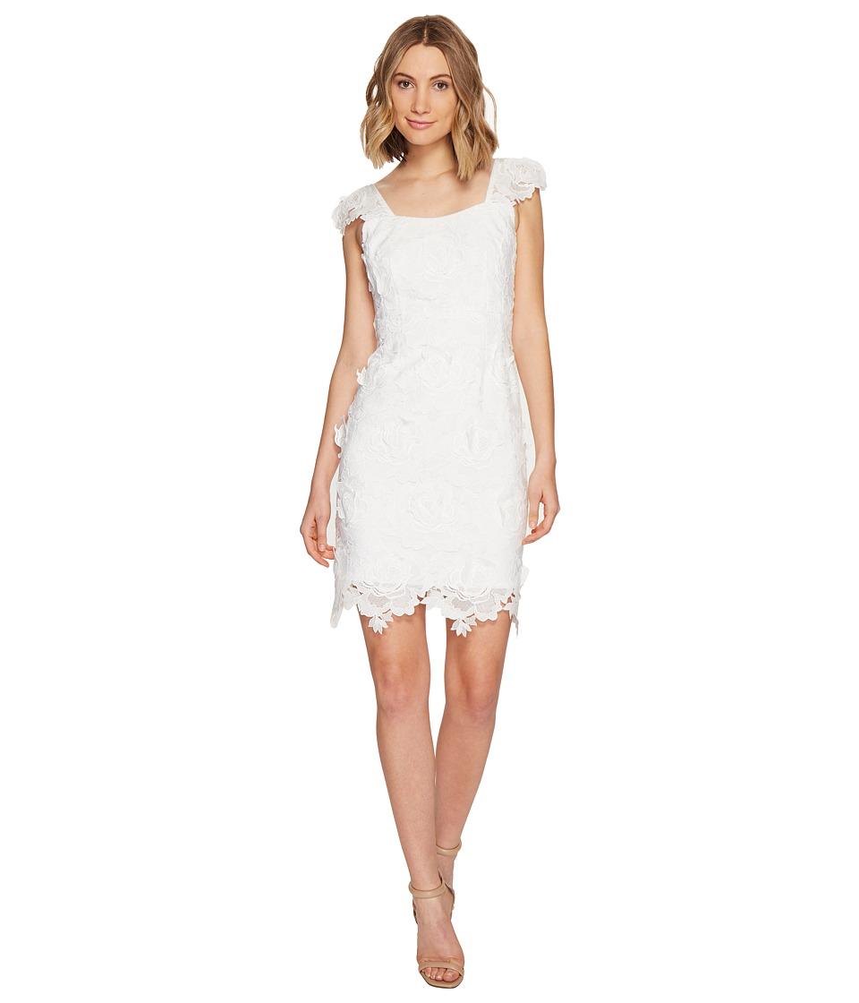 Nanette Lepore Secret Garden Dress (White) Women