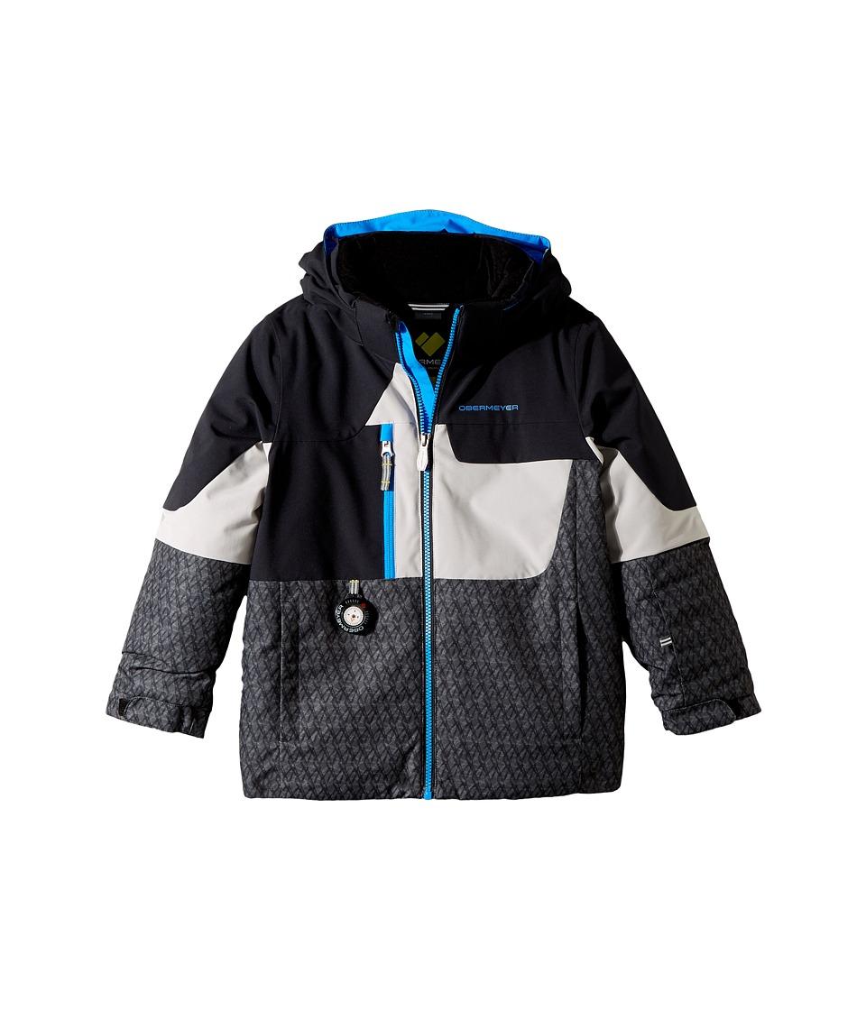Obermeyer Kids Torque Jacket (Toddler/Little Kids/Big Kids) (Black) Boy
