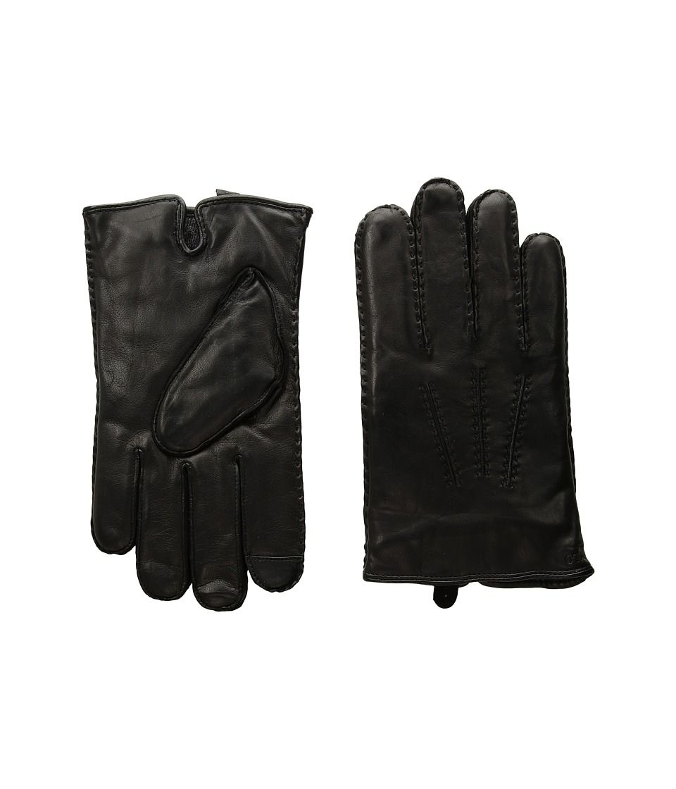 Polo Ralph Lauren Classic Cashmere Lined Touch Gloves (Black) Extreme Cold Weather Gloves
