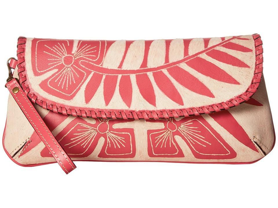 Patricia Nash Baku Clutch (Pink) Clutch Handbags