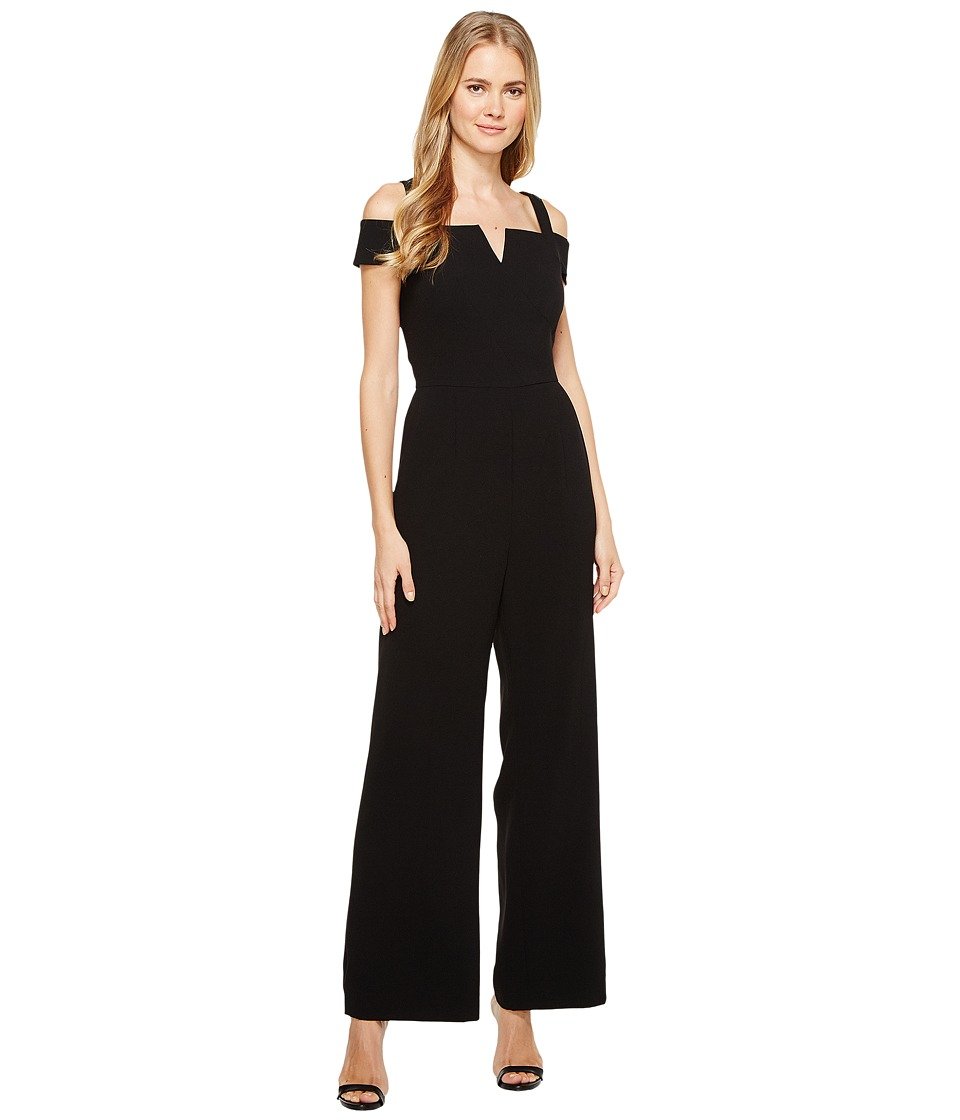 Tahari by ASL Tahari by ASL - Cold Shoulder Crepe Jumpsuit