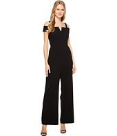 Tahari by ASL - Cold Shoulder Crepe Jumpsuit