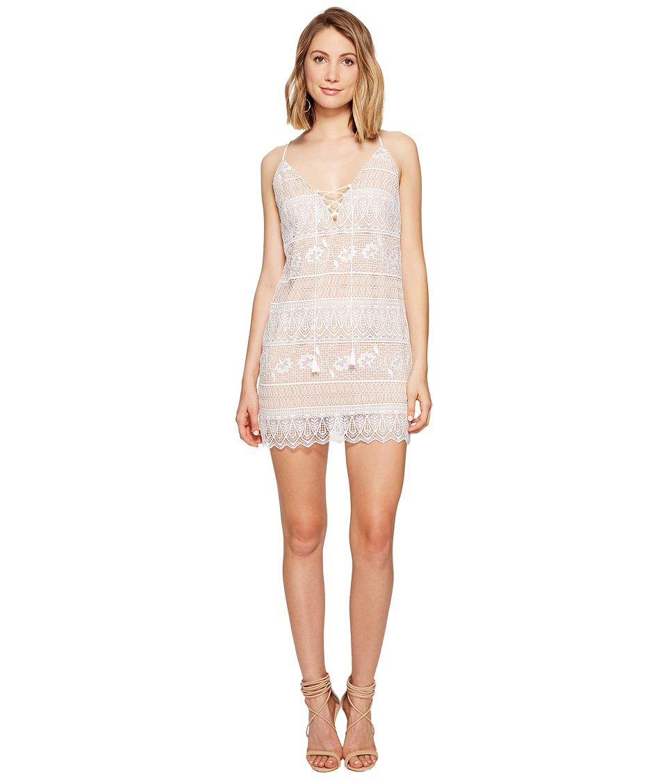 The Jetset Diaries Lupita Mini Dress (Ivory) Women