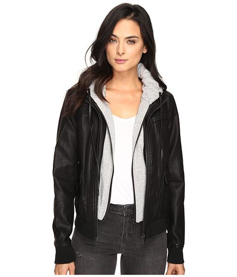 Blank NYC Adulting Jacket in Black - Black