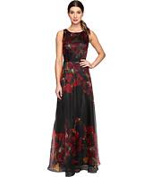 Tahari by ASL - Organza Floral Gown