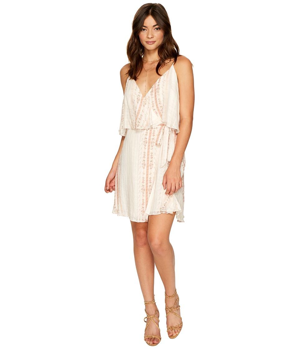 The Jetset Diaries Halcyon Mini Dress (Floral Stripe) Women