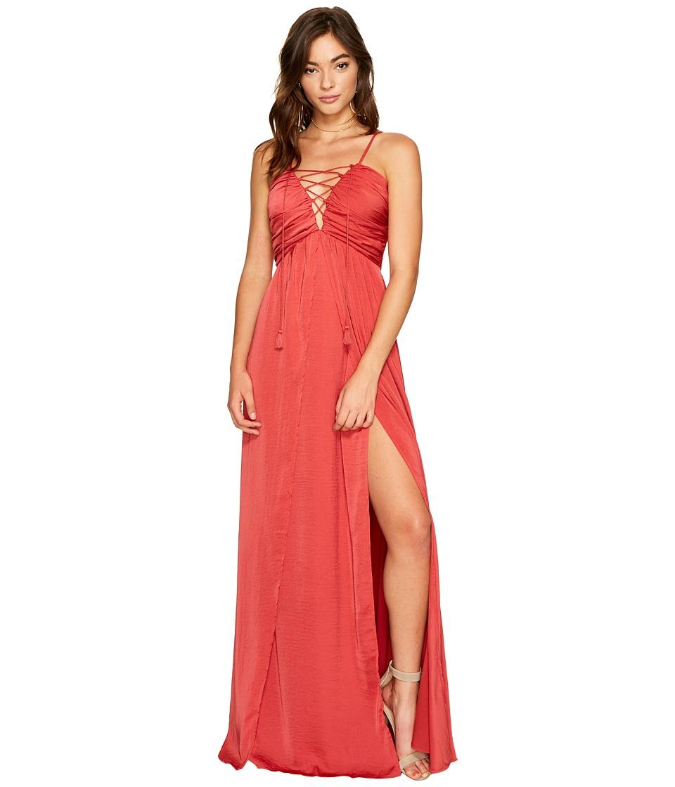 The Jetset Diaries Karisimbi Maxi Dress (Scarlet) Women