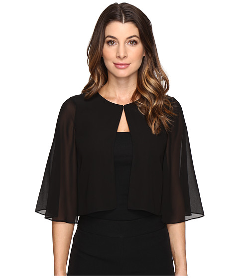 Tahari by ASL Sleeved Chiffon Cover-Up